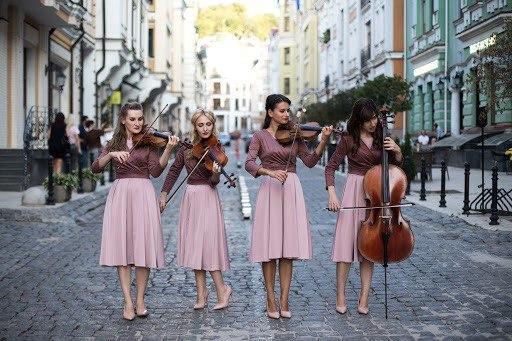 female string quartet